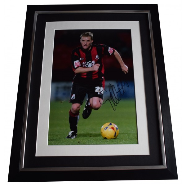 Eddie Howe Signed Framed Autograph 16x12 photo display Bournemouth COA Perfect Gift Memorabilia