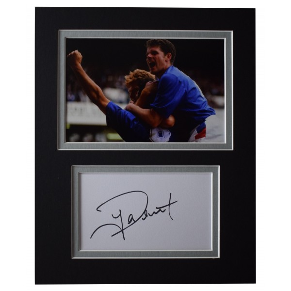 Ian Durrant Signed Autograph 10x8 photo display Rangers Football AFTAL COA Perfect Gift Memorabilia