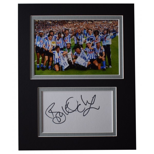 Brian Kilcline Signed Autograph 10x8 photo display Coventry City FC AFTAL COA Perfect Gift Memorabilia