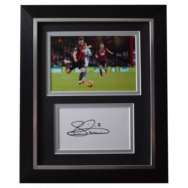 Simon Francis Signed 10x8 Framed Autograph Photo Display Bournemouth AFTAL COA Perfect Gift Memorabilia