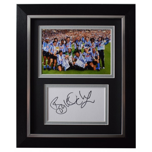 Brian Kilcline Signed 10x8 Framed Autograph Photo Display Coventry AFTAL COA Perfect Gift Memorabilia