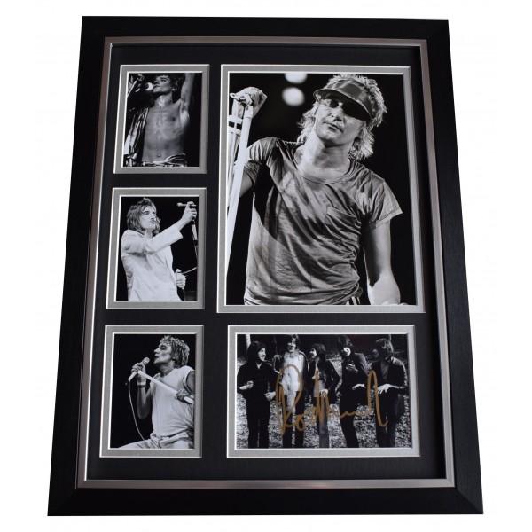 Rod Stewart Signed Autograph 16x12 framed photo display Music Memorabilia COA Perfect Gift Memorabilia