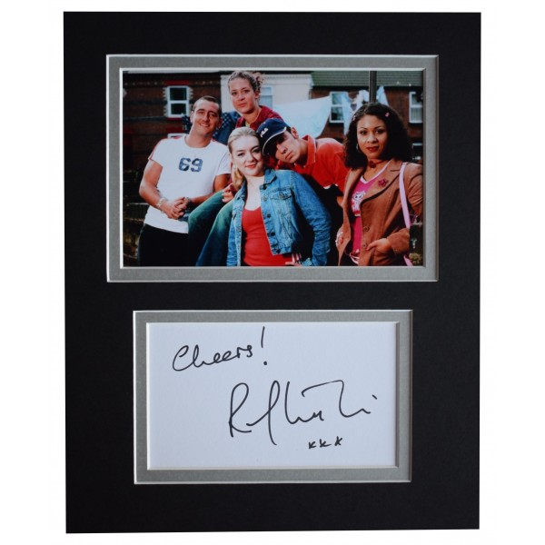 Ralf Little Signed Autograph 10x8 photo mount display Two Pints of Lager COA Perfect Gift Memorabilia