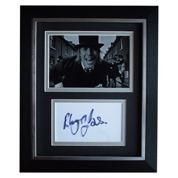 Rhys Ifans Signed 10x8 Framed Photo Autograph Display Oasis Music Video COA Perfect Gift Memorabilia