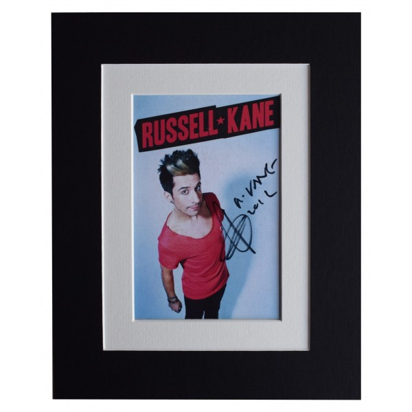 Russell Kane Signed Autograph 10x8 photo display Comedy TV AFTAL & COA Perfect Gift Memorabilia