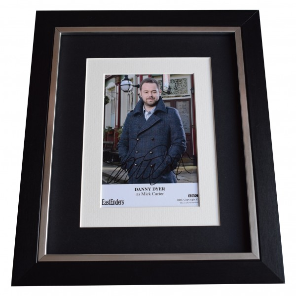 Danny Dyer Signed 10x8 Framed Photo Autograph Display Eastenders TV COA Perfect Gift Memorabilia
