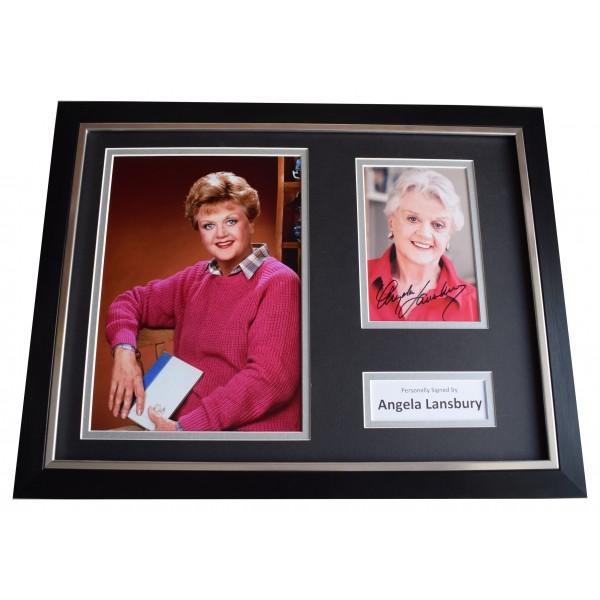 Angela Lansbury Signed Framed Photo Autograph 16x12 display Murder She Wrote COA  Perfect Gift Memorabilia