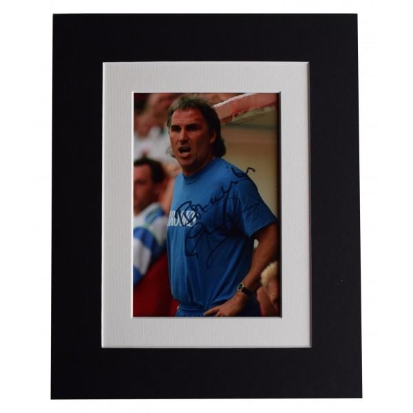 Gerry Francis Signed Autograph 10x8 photo display QPR Football AFTAL & COA Perfect Gift Memorabilia