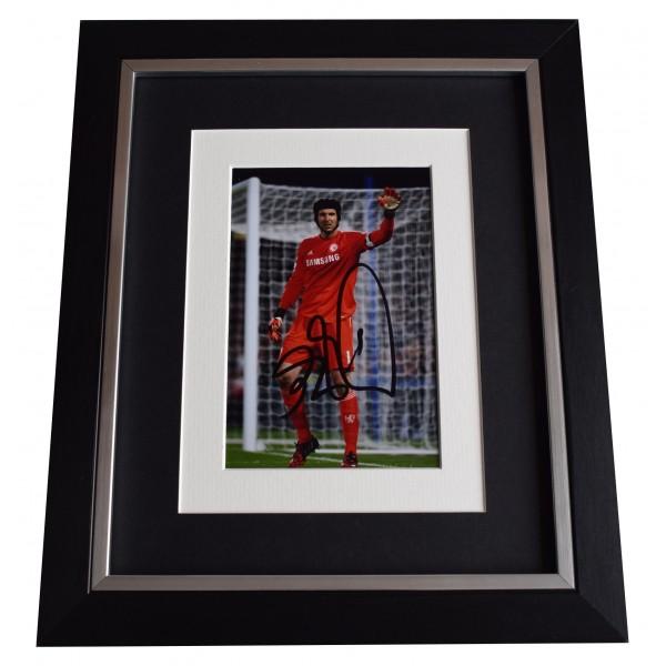Petr Cech Signed 10x8 Framed Photo Autograph Display Chelsea Football COA Perfect Gift Memorabilia