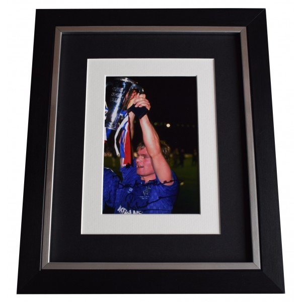 Robert Fleck Signed 10x8 Framed Photo Autograph Display Glasgow Rangers COA Perfect Gift Memorabilia