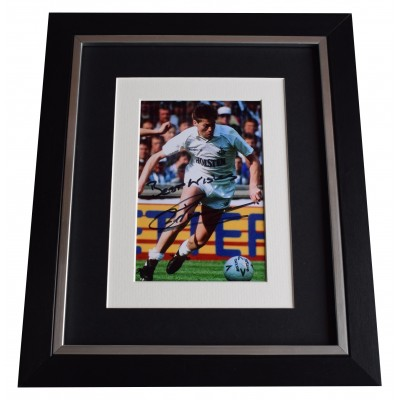 Chris Waddle Signed 10x8 Framed Photo Autograph Display Tottenham Hotspur COA Perfect Gift Memorabilia