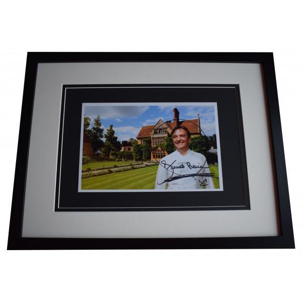 Raymond Blanc Signed Framed Autograph 16x12 photo display TV Chef COA Perfect Gift Memorabilia
