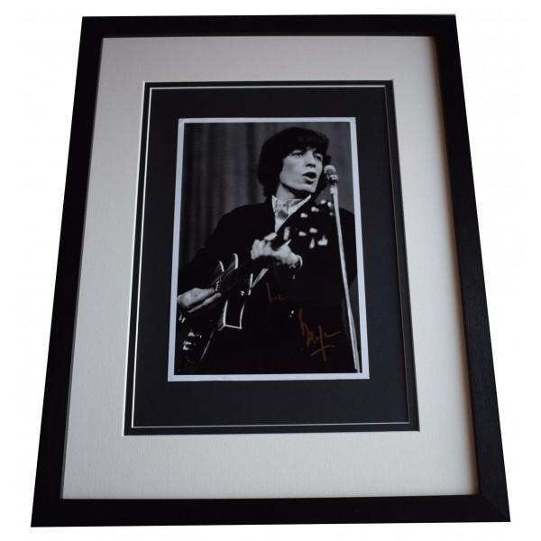 Bill Wyman Signed Framed Autograph 16x12 photo display Rolling Stones Music COA Perfect Gift Memorabilia