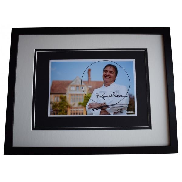 Raymond Blanc Signed Framed Autograph 16x12 photo display TV Chef  Perfect Gift Memorabilia
