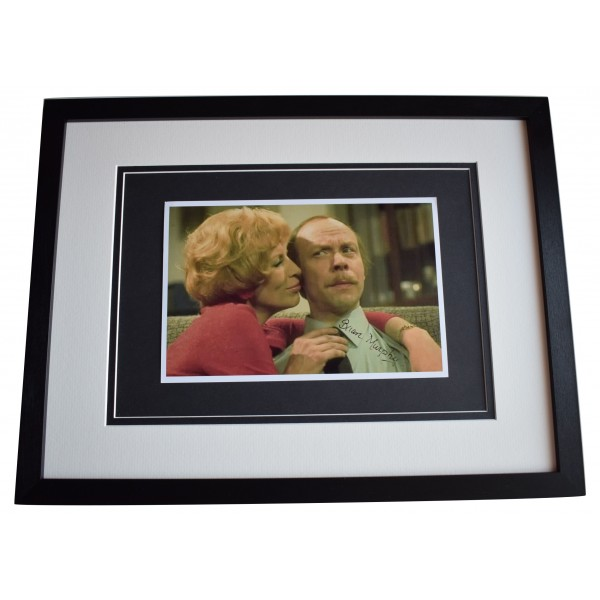 Brian Murphy Signed Framed Autograph 16x12 photo display George & Mildred COA Perfect Gift Memorabilia