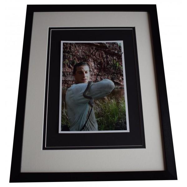 Bear Grylls Signed Framed Autograph 16x12 photo display SAS Man v Wild TV COA Perfect Gift Memorabilia