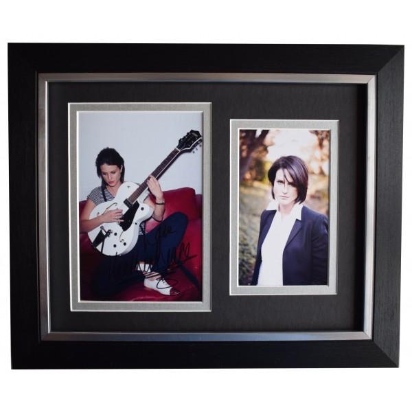 Heather Peace Signed 10x8 Framed Photo Autograph Display Music Memorabilia COA Perfect Gift Memorabilia
