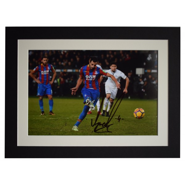 Luka Milivojevic Signed autograph 16x12 photo display Crystal Palace AFTAL COA Perfect Gift Memorabilia