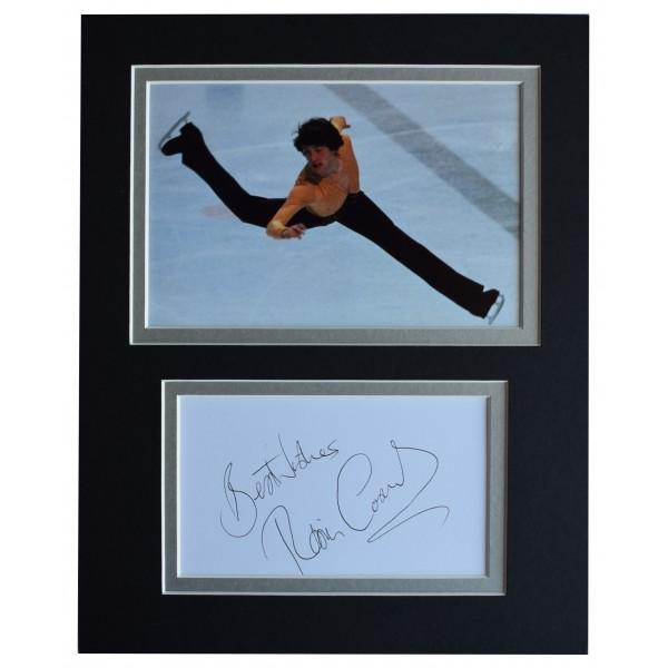 Robin Cousins Signed Autograph 10x8 photo display Olympic Skating AFTAL COA Perfect Gift Memorabilia