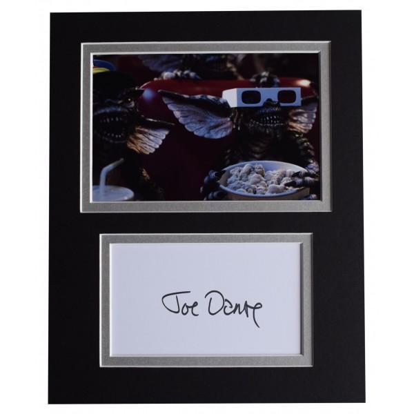 Joe Dante Signed Autograph 10x8 photo display Gremlins Film Perfect Gift Memorabilia