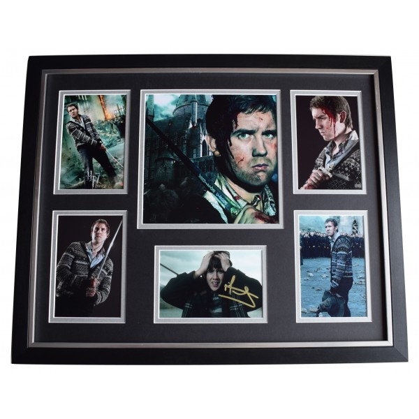 Matthew Lewis SIGNED Framed Photo Autograph Huge display Harry Potter Perfect Gift Memorabilia