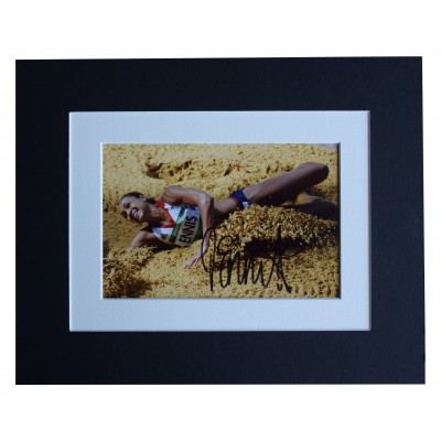 Jessica Ennis Hill Signed Autograph 10x8 photo display Olympic Athletics Perfect Gift Memorabilia