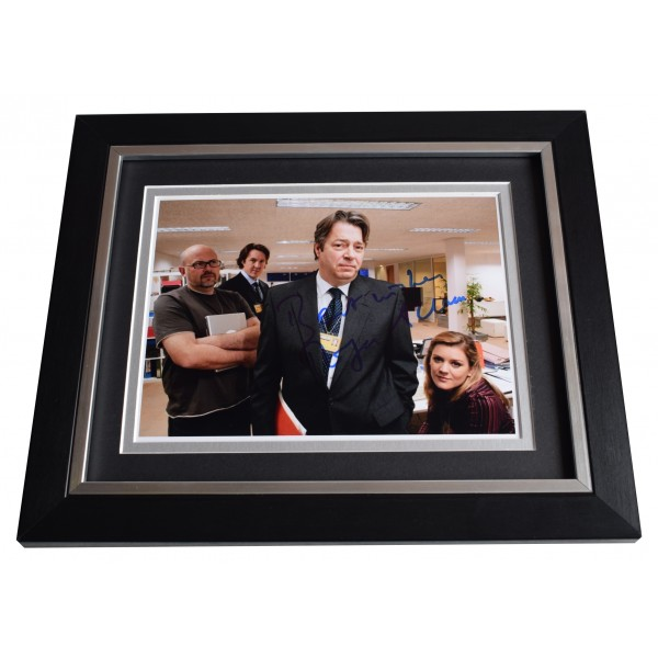 Roger Allam Signed 10x8 Framed Photo Autograph Display The Thick Of It TV COA Perfect Gift Memorabilia