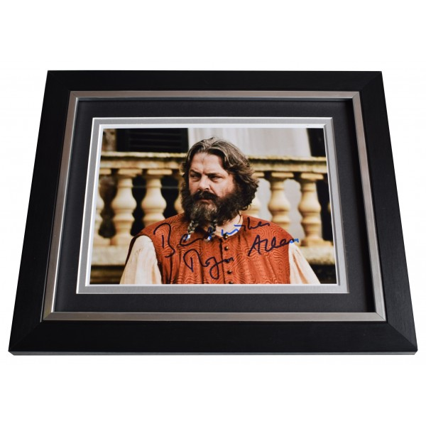 Roger Allam Signed 10x8 Framed Photo Autograph Display Game of Thrones TV COA Perfect Gift Memorabilia