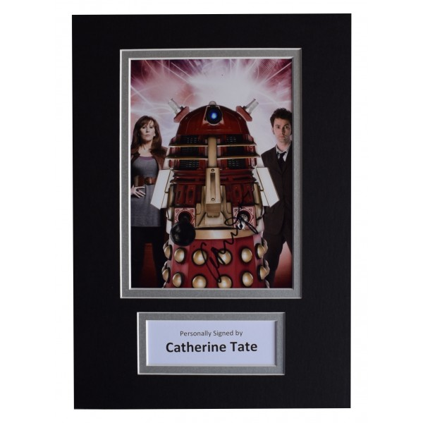 Catherine Tate Signed Autograph A4 photo display Doctor Who TV AFTAL COA Perfect Gift Memorabilia