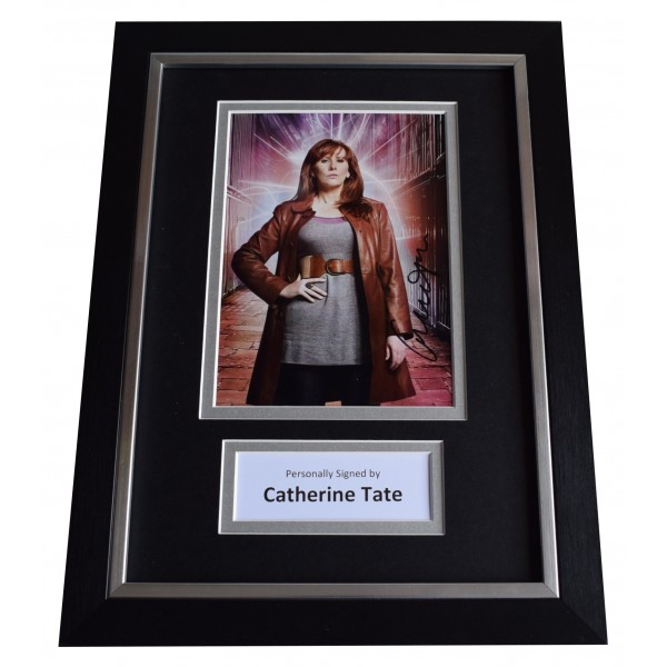 Catherine Tate Signed A4 Framed Autograph Photo Display Doctor Who TV COA Perfect Gift Memorabilia