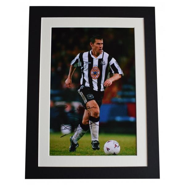 Rob Lee SIGNED autograph 16x12 photo display Newcastle Football AFTAL & COA Perfect Gift Memorabilia
