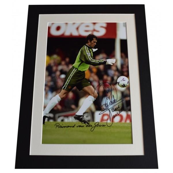 Raimond van der Gouw SIGNED autograph 16x12 photo display Manchester United COA Perfect Gift Memorabilia