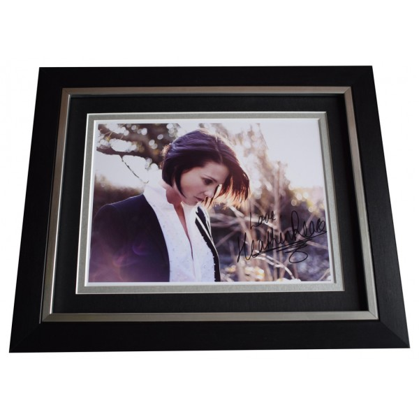 Heather Peace SIGNED 10x8 FRAMED Photo Autograph Display Music Perfect Gift Memorabilia