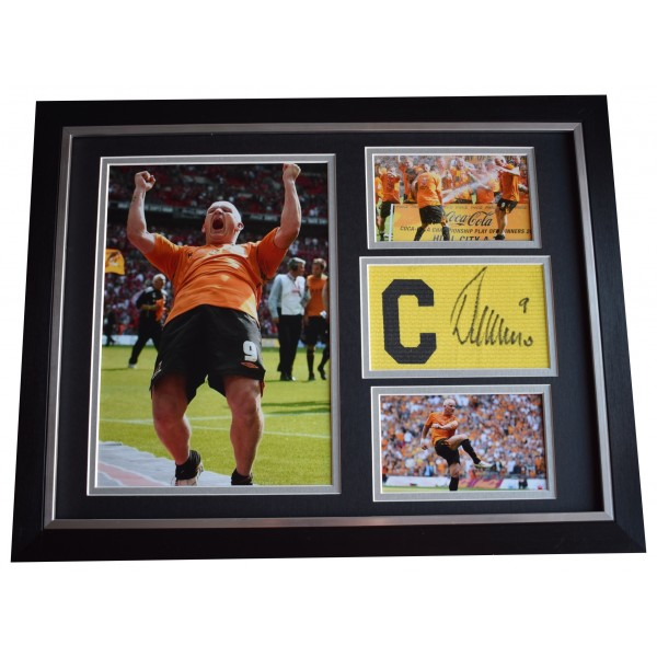 Dean Windass Signed Framed Armband & Photo Autograph 16x12 display Hull City COA Perfect Gift Memorabilia
