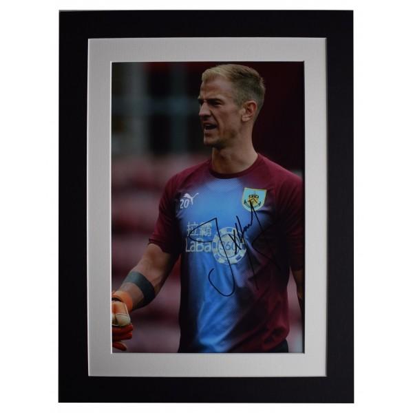 Joe Hart Signed autograph 16x12 photo display Burnley Football AFTAL COA Perfect Gift Memorabilia