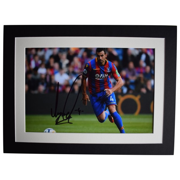Luka Milivojevic Signed autograph 16x12 photo display Crystal Palace COA Perfect Gift Memorabilia