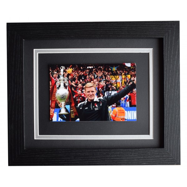 Eddie Howe Signed 10x8 Framed Photo Autograph Display Bournemouth COA Perfect Gift Memorabilia
