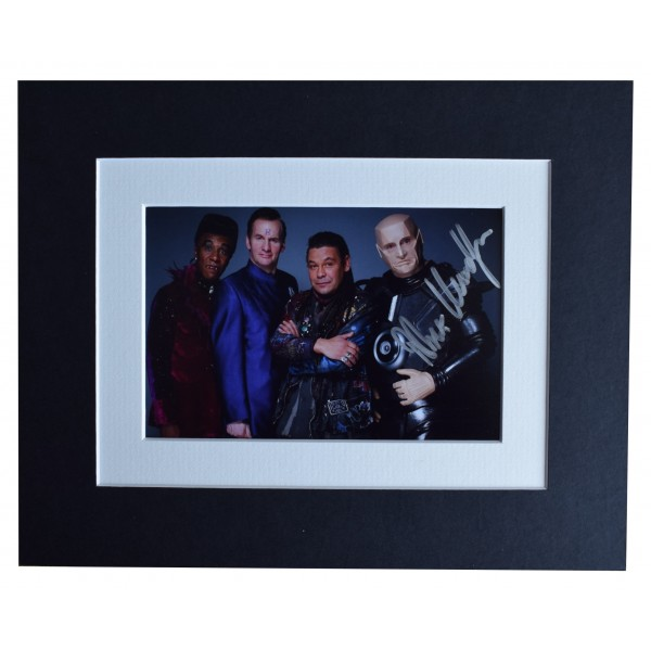 Robert Llewellyn Signed Autograph 10x8 photo display Red Dwarf TV AFTAL COA  Perfect Gift Memorabilia