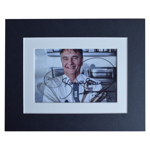Raymond Blanc Signed Autograph 10x8 photo display Michelin Star Chef AFTAL COA Perfect Gift Memorabilia