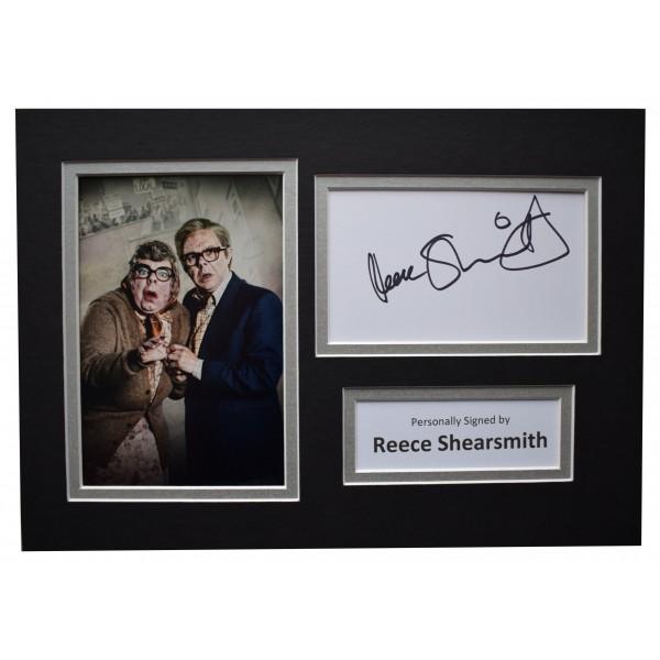 Reece Shearsmith Signed Autograph A4 photo display Inside No 9 TV AFTAL COA Perfect Gift Memorabilia
