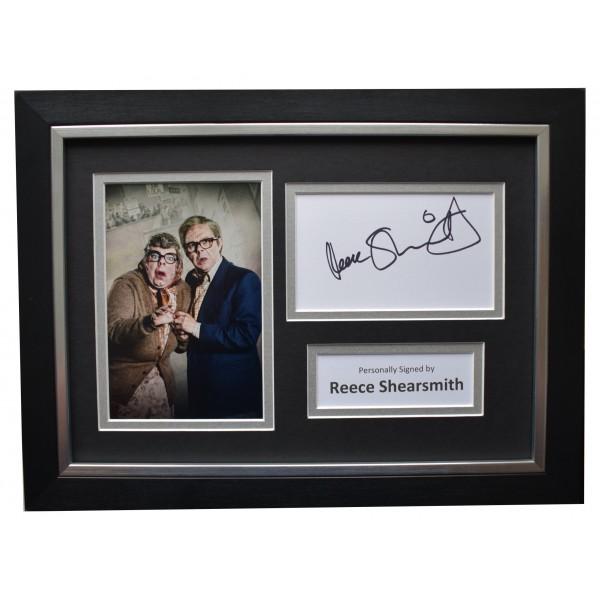 Reece Shearsmith Signed A4 Framed Autograph Photo Display Inside No 9 TV COA  Perfect Gift Memorabilia