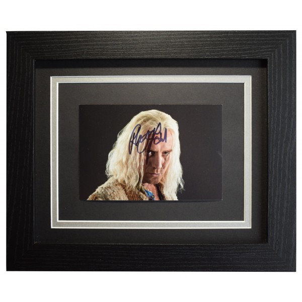 Rhys Ifans Signed 10x8 Framed Photo Autograph Display Harry Potter Film COA Perfect Gift Memorabilia