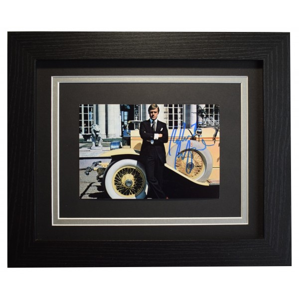 Robert Redford Signed 10x8 Framed Photo Autograph Display Great Gatsby COA Perfect Gift Memorabilia