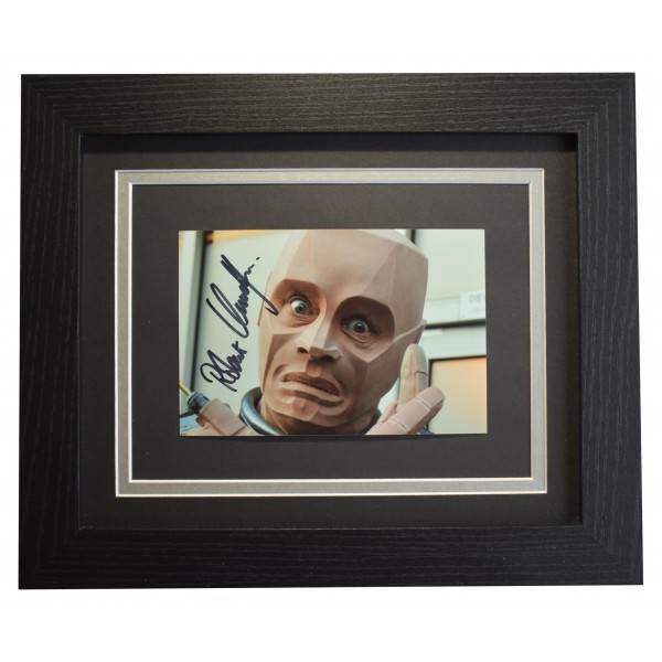 Robert Llewellyn Signed 10x8 Framed Photo Autograph Display Red Dwarf COA  Perfect Gift Memorabilia