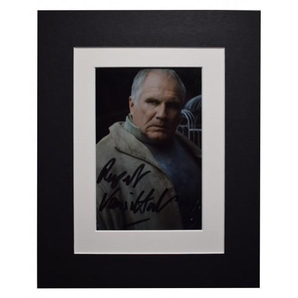 Rupert Vansittart Signed Autograph 10x8 photo display Game of Thrones AFTAL COA Perfect Gift Memorabilia