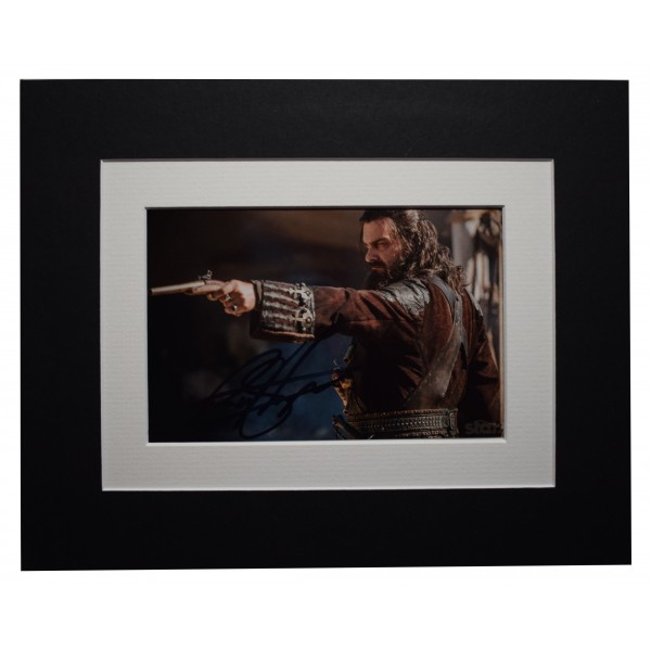 Ray Stevenson Signed Autograph 10x8 photo display Black Sails Film AFTAL COA Perfect Gift Memorabilia