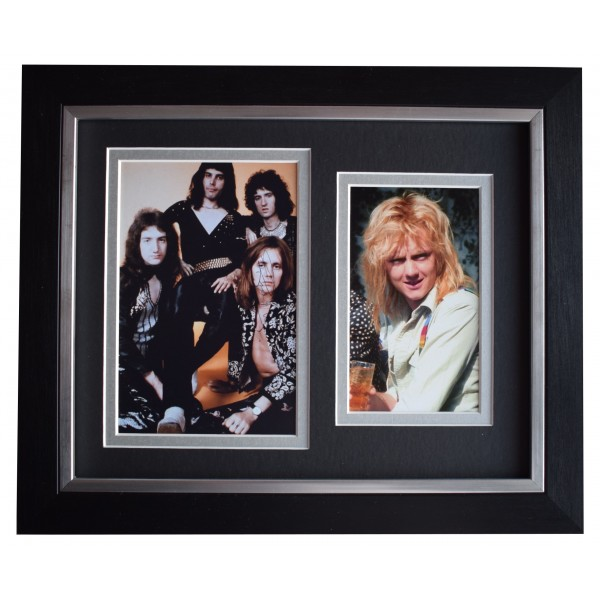 Roger Taylor Signed 10x8 Framed Photo Autograph Display Queen Music COA Perfect Gift Memorabilia