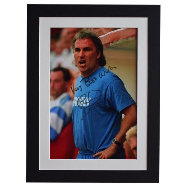 Gerry Francis Signed autograph 16x12 photo display Queens Park Rangers AFTAL COA Perfect Gift Memorabilia