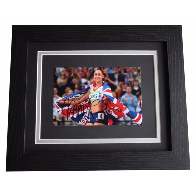 Jessica Ennis-Hill Signed 10x8 Framed Photo Autograph Display Olympic Heptathlon Perfect Gift Memorabilia