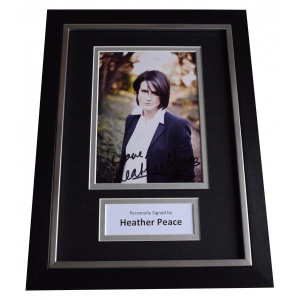 Heather Peace Signed A4 Framed Autograph Photo Display Music Memorabilia COA Perfect Gift Memorabilia
